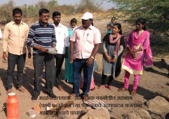 contribution at paani foundation ceremony