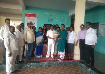 Congratulations to principal Mr Vijay Kumar Patil